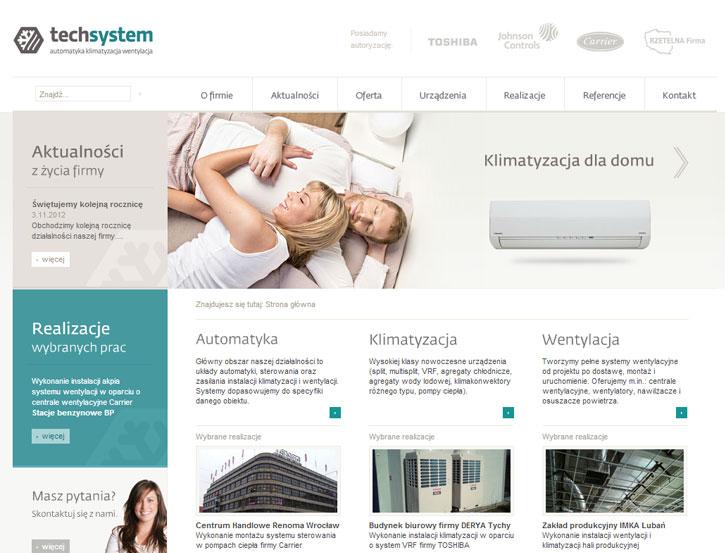 Tech System - serwis www