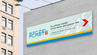 Reklama zewnętrzna Szczel-Plast