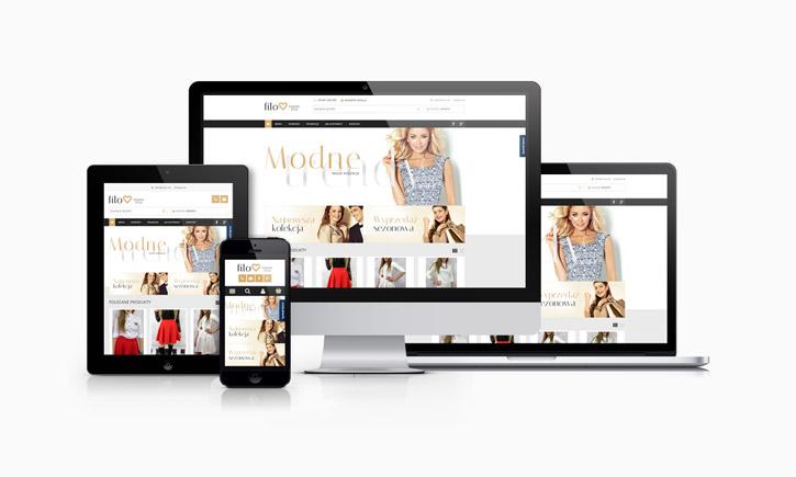Filo.sklep.pl - responsywny sklep internetowy