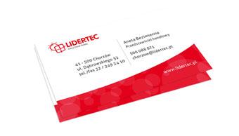 Lidertec - wizytówka