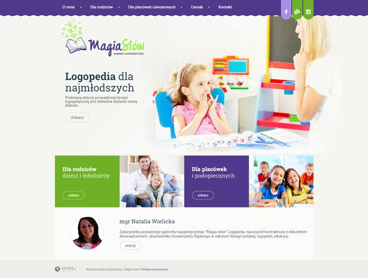 Strona www - MagiaSlow.pl