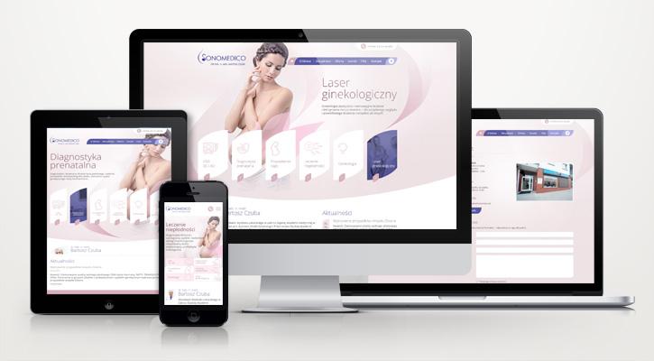 Sonomedico.pl - strona internetowa