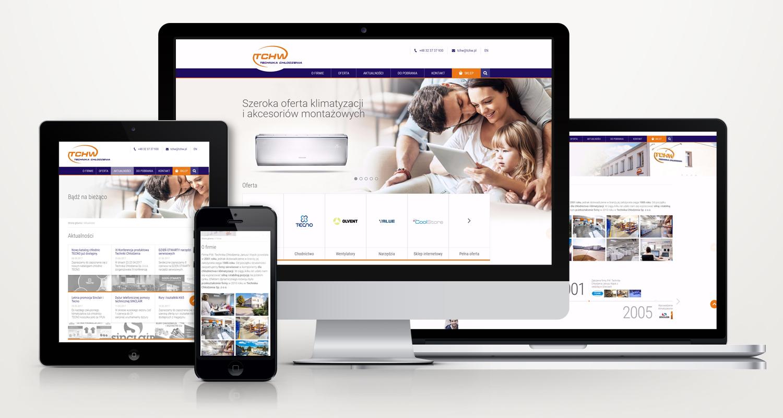 Responsywny serwis internetowy TCHW