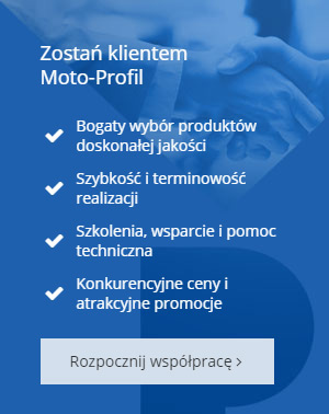 Moto-Profil strona www blok współpraca