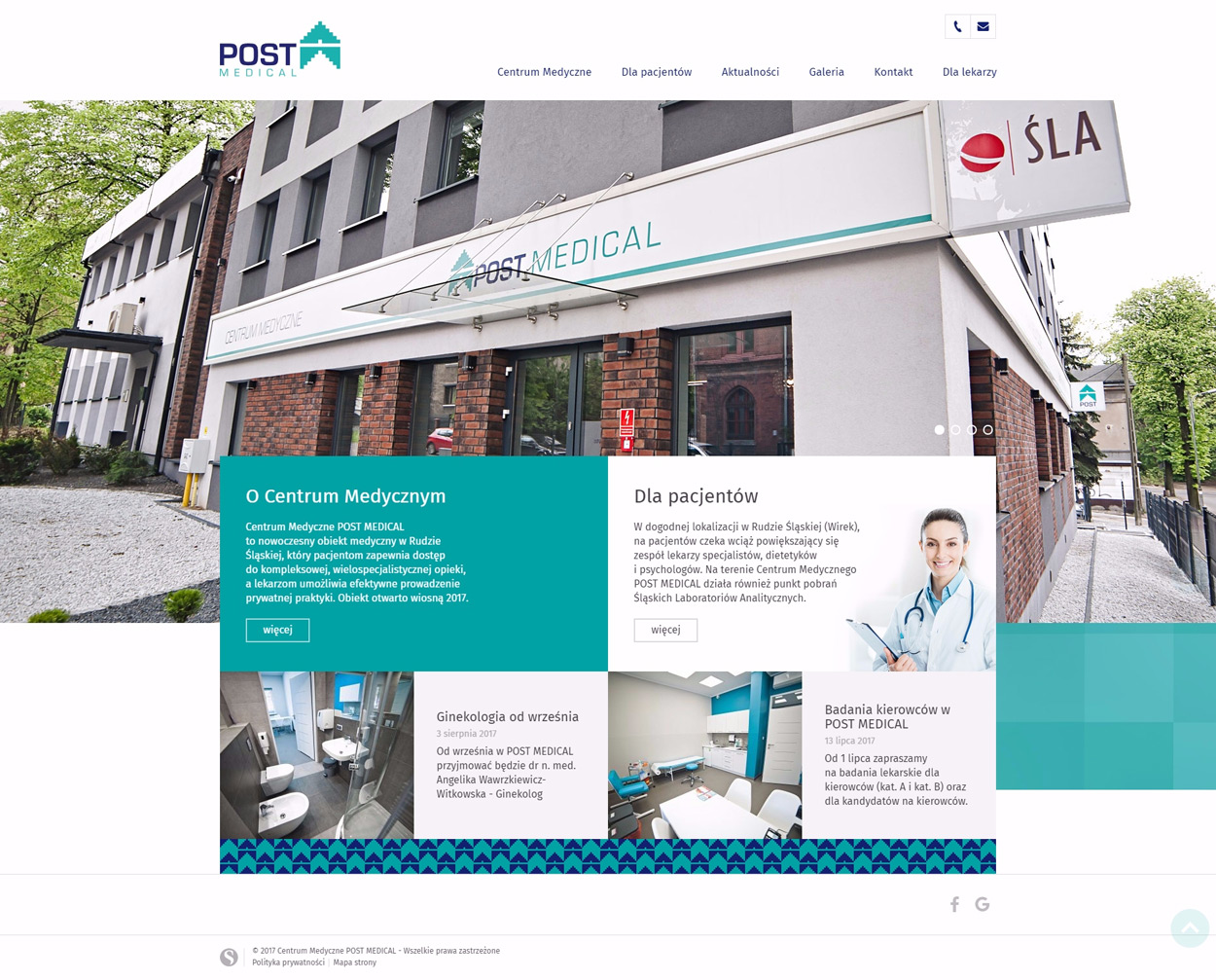 Post Medical strona www RWD