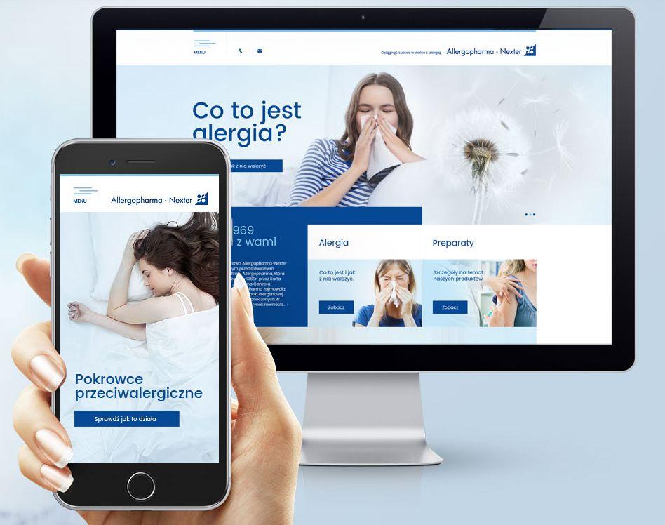 Strona RWD dla Allergopharma-Nexter Sp. z o.o.