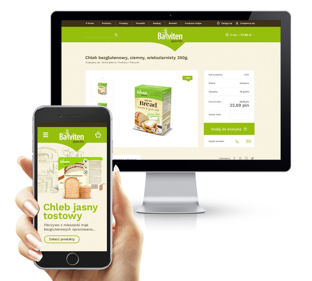 Balviten - sklep internetowy RWD